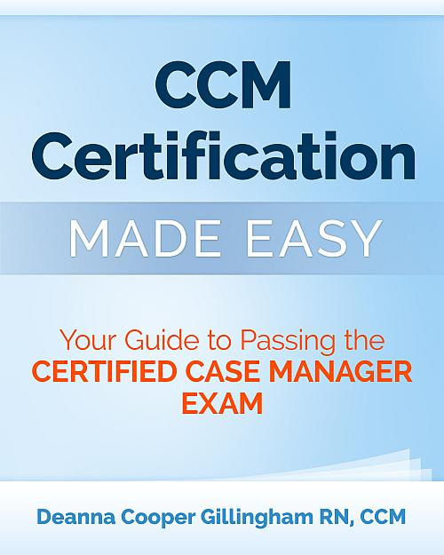 Case management certification study material | Research paper ...