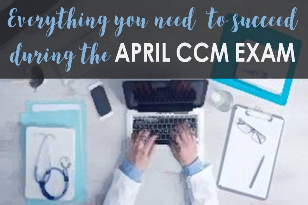 aprill ccm exam