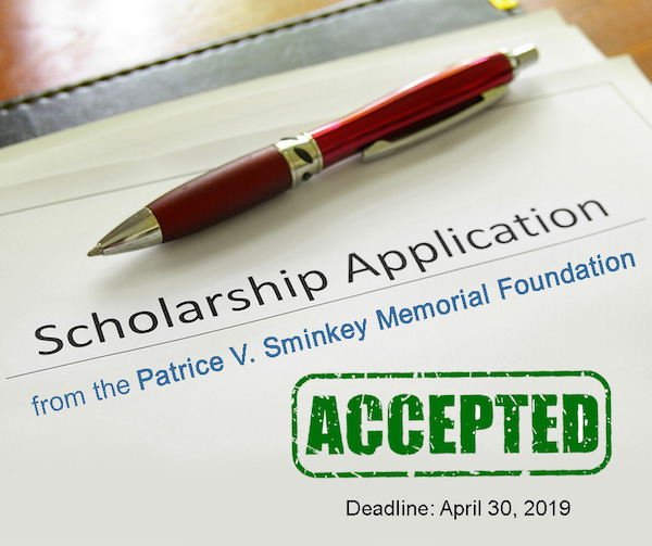 Patrice V. Sminkey Foundation Scholarship